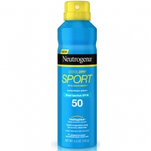 露得清極透氣清爽運動防曬噴霧  - Neutrogena Cool Dry Sport Spray - 露得清 Neutrogena