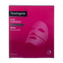 露得清細白晶透面膜  - Fine Fairness Hydrogel Mask - 露得清 Neutrogena
